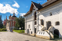Old English Court In Central Moscow, Russia