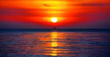 Beautiful Golden Sunset Landsc...