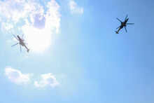 Two Turkish Police Helicopter ...