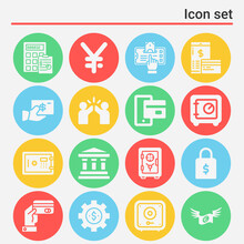 16 Pack Of Rely  Filled Web Icons Set