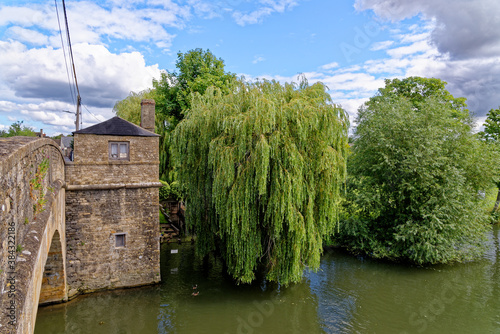 Fotografie, Obraz Halfpenny Bridge - Lechlade-on-Thames - United Kingdom