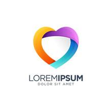 Colorful Love Logo