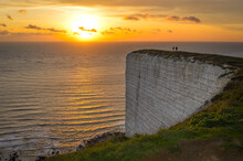 Sunset At Beachy Head, Eastbourne