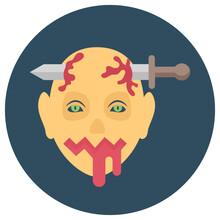 Bloody Headbands Sign, Zombie ...