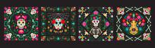 Dia De Los Muertos, Day Of The Dead Or Mexico Halloween