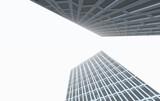Fototapeta Do przedpokoju - modern office building isolated on white