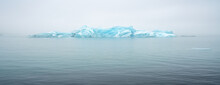 Floating Icebergs In Valley Of...