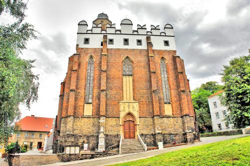Fototapeta Kościół świętego Jana Ewangelisty w Paczkowie. obraz