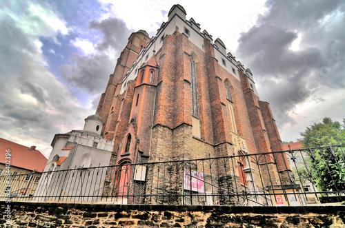 Kościół świętego Jana Ewangelisty w Paczkowie. - fototapety na wymiar