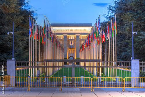 Fototapeta United Nations, Geneva, Switzerland obraz