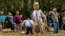 Field Of Scarecrows