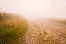 Misty Foggy Country Rocky Road...