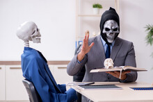 Funny Business Meeting With De...