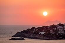 Romantic Sunset At The Coastli...