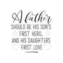 A Father Should Be His Son's F...