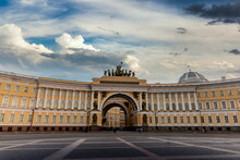 Winter Palace And Alexander Co...
