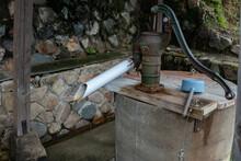 井戸と柄杓