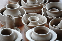 Handmade Unbacked Crockery And...