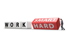 Concept Of Working Smart Not H...