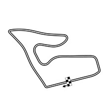 Österreich, Red Bull Ring, Map, RaceTrack, Race, Track, Vector