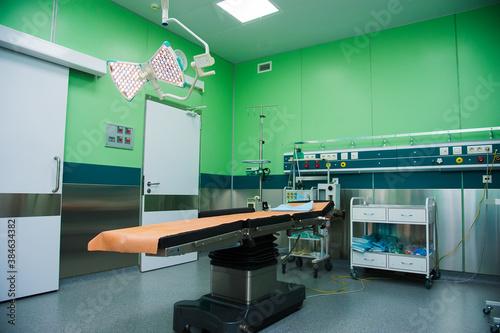 Resuscitation chamber in municipal hospital Wallpaper Mural