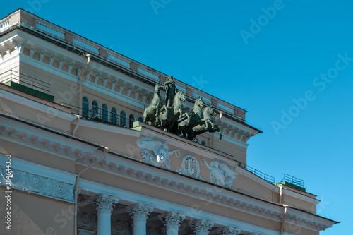Photo Ostrovsky Square, Saint Petersburg, Russia, 11