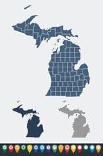 Set Maps Of Michigan State