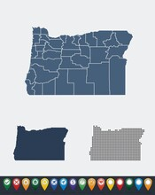 Set Maps Of Oregon State