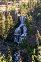 Undine Falls Waterfall In Yell...