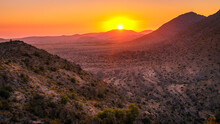 Sunset In Al Hajar Mountains