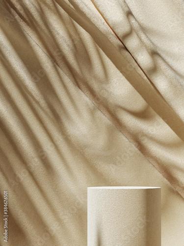 Fotografie, Obraz Minimal background for branding and product presentation