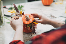 DIY Autumn Flower Arrangement ...