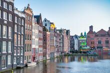 Classic Buildings Of Amsterdam...