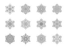 Christmas Snowflakes Collectio...