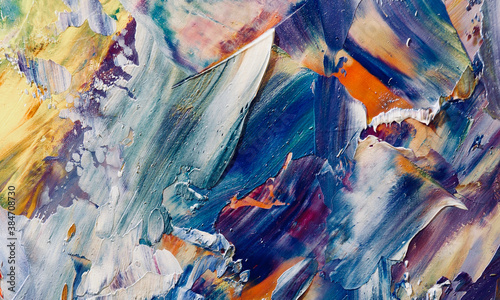 Color texture. Hand drawn.Abstract art background. Hand drawn .Oil painting on canvas. Modern, contemporary art. Colorful canvas. Wall decor background