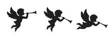 Angel Herald With Trumpet Set....