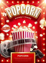 Buttery And Crunchy Popcorn Ads