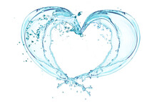 Water Splash Of Love