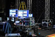 Audio & Visual Backstage Equipment And Operator
