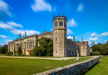 View Of Lacock Abbey In Somerset, England