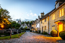 View Of Castle Combe Village I...