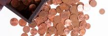 Wooden Treasure Chest Full Of ...