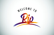Rio Welcome To Message In Beau...