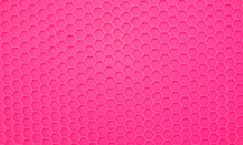 Trendy Hexagonal Pink Trendy Background Surface