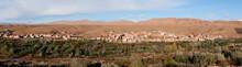 Ziz Oasis Panoramic View Morocco
