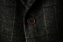 Detail Of A Gray Man Suit