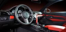Modern Luxury Car Interior - S...