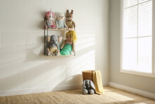 Many Cute Toys Indoors. Baby R...