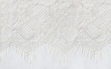 White Lace Edge