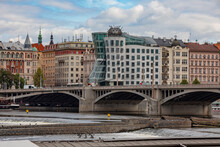 View Of The Dancing House